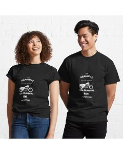 Oddly specific t-shirt some granpas play bingo real granpas ride motorcycles Classic T-Shirt