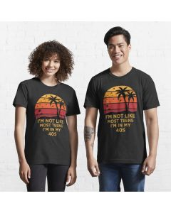 Oddly Specific with Retro Vintage Sunset Gift for Dad Essential T-Shirt